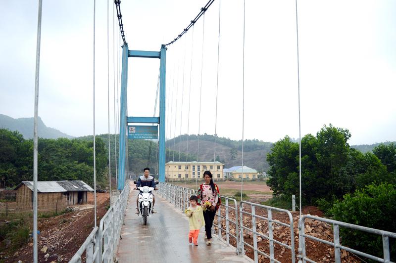 Đề án ây dựng 186 cầu treo dân sinh đảm bảo an toàn giao thông