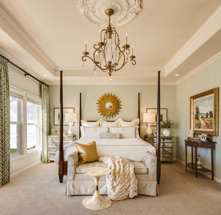 Cách lựa chọn đèn chùm trang trí phòng ngủ hợp phong thủy