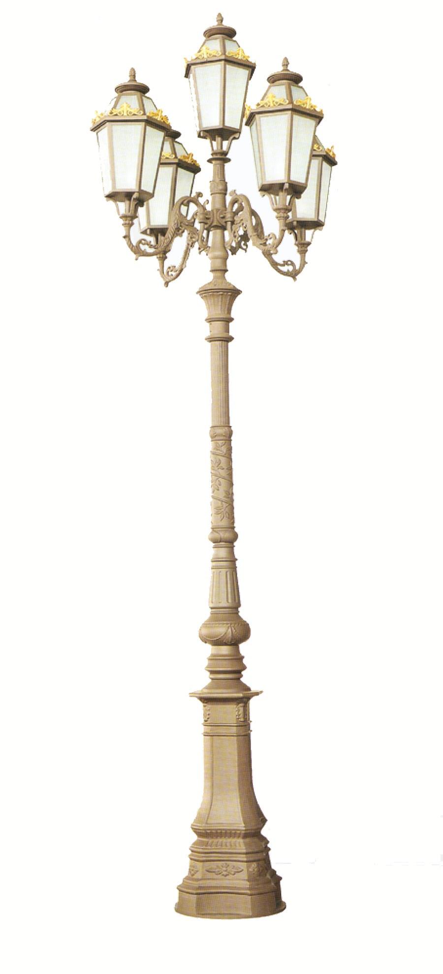 Cột đèn QTGL 02 - Đèn led sân vườn