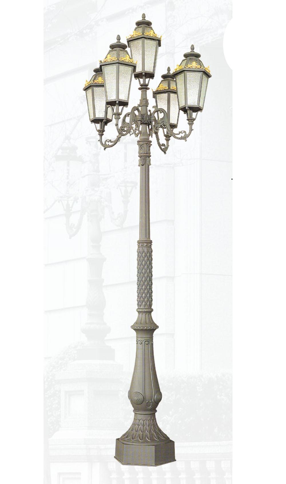 Cột đèn QTGL 04 - Đèn led sân vườn
