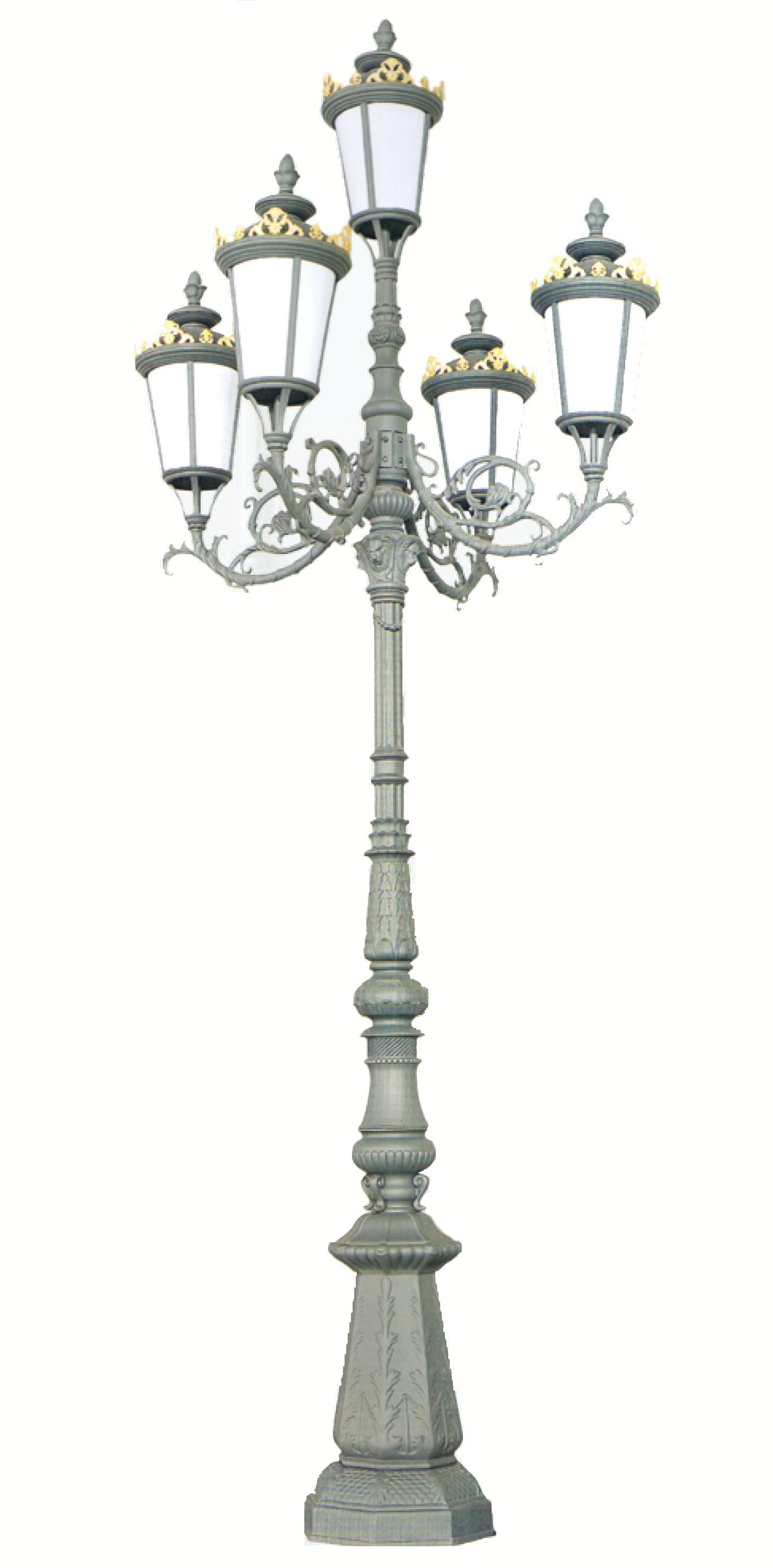 Cột đèn QTGL 07 - Đèn led sân vườn
