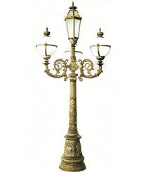 Cột đèn QTGL 08 - Đèn led Sân Vườn